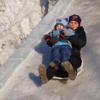 Маме хочется кататься :: Наталия Григорьева