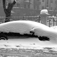 Зимние улицы.Железные сугробы. :: Сергей F