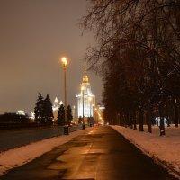 Зимний вечер в Москве. :: Oleg4618 Шутченко