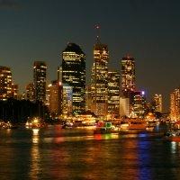 Брисбен в ночи.Австралия :: Антонина