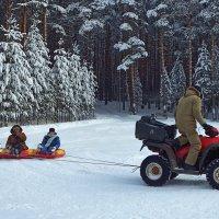 Зимние забавы :: Сергей Комков
