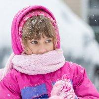 Теплый взгляд среди холодного снега :: Petr Shostak