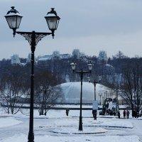 Вид на главный дворец, фонтан, мост :: Елена Павлова (Смолова)