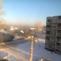 Морозный день,вид из окна. :: Аверьянов Александр