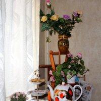 Уголок на кухне :: Людмила Монахова