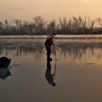 По тонкому льду.... :: евгения