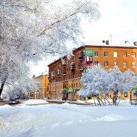 Снежный город :: Кулага Андрей Андреевич