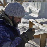 Международный конкурс ледовых скульптур в г. Хабаровске :: Николай Сапегин