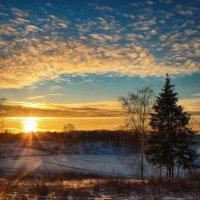 Зимний закат :: Иван Анисимов