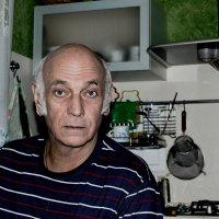 Портрет на кухне :: Дмитрий Кузнецов