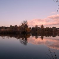 Тучи над озером :: Оксана Лада
