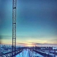Рассвет на железной дороге :: Ольга Осовская