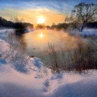 Очень морозный закат...2. :: Андрей Войцехов