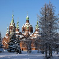 """Заметало снегом маковки церквей..."" )) :: Надежда"