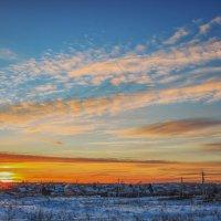 Закат солнца :: Иван Анисимов