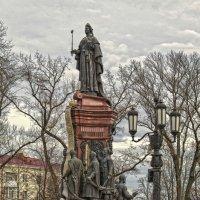 Памятник Екатерине II (Краснодар) :: Игорь Хижняк