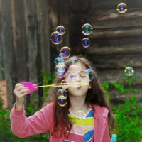 мыльные пузыри :: Анастасия Алёшина