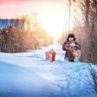 Зима и дети торжествуют. :: Еления Харченко
