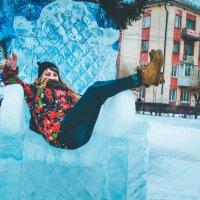 на ледяном троне) :: Дарьяна Вьюжанина