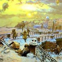 Блокадный Ленинград. :: Владимир Болдырев