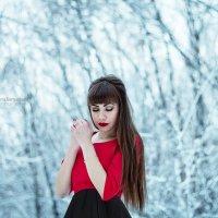 В серебряном лесу :: Виктория Дергачёва