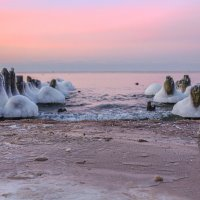 вода и лёд, море, свет и закат, начало и конец... :: Павел Ребрук