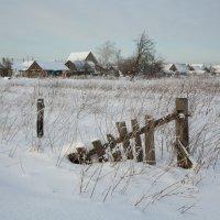 Зимой в деревне :: Pavel Stolyar