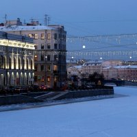 Вид со стороны р. Фонтанки на Шуваловский дворец :: Елена Павлова (Смолова)