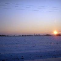 Зимний закат :: Valdemar Кравченко