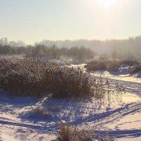 Замёрзшая река :: Денис Матвеев