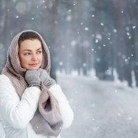 Зимние мечты :: Julia VasilёK