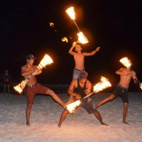 Fire - show Samet :: Юлия Маслова