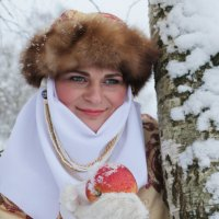Зимняя история :: Людмила Волдыкова