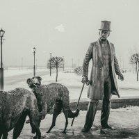 Паскевич и собаки :: Юрий Кулаков