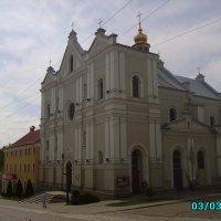 Греко - католический  собор  в  Дрогобыче :: Андрей  Васильевич Коляскин
