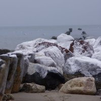 Зимой даже камни замерзли. :: Максим Воробьев