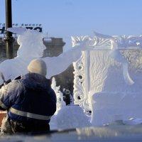 Как рождаются шедевры  из льда серия 5\\5 :: Николай Сапегин