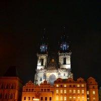 Ночь на Староместской площади :: Ольга