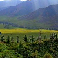 Вид  с  перевала. :: Vlad Borschev