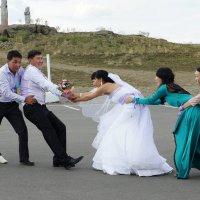 Тувинская свадьба :: Ольга Чистякова