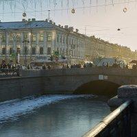 Но странной тайною исполнен город мой, От холода искрящийся, звенящий :: Валентина Харламова