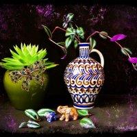 Про слоников и комнатные цветы :: Nina Yudicheva