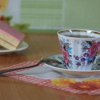 Утренний чай. :: Наталья