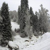 зимний пейзаж :: Горный турист Иван Иванов