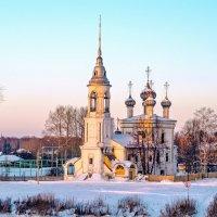 Вологодский пейзаж :: Виктор Заморков