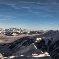 На леднике Китцштайнхорн(высота 3026 метров). Альпы.Австрия. :: Александр Вивчарик