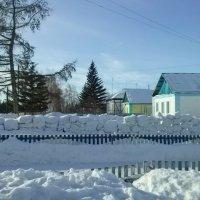 Снежный забор :: Kira Martin