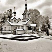 .церковь в ПИТКЯРАНТА :: Ольга Cоломатина