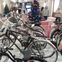 Зима. Велосипеды отдыхают. :: Мила