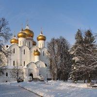 Голубые небеса, золотые купола :: Николай Белавин